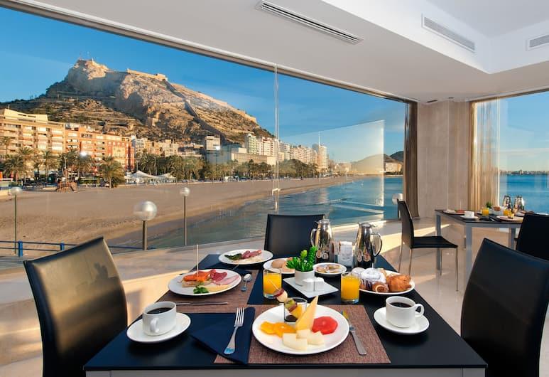 メリア アリカンテ, Alicante, 朝食スペース