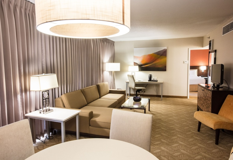 Holiday Inn Rochester Downtown, an IHG Hotel, Rochester, Izba typu Executive, 2 veľké dvojlôžka, nefajčiarska izba, Hosťovská izba