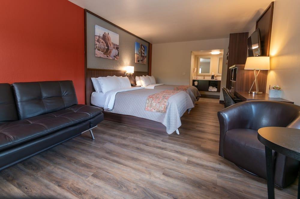 Deluxe Room, 2 Queen Beds, Non Smoking - Guest Room