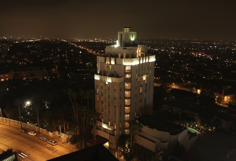 Sunset Tower Hotel, Γουέστ Χόλυγουντ, Πρόσοψη ξενοδοχείου - βράδυ/νύχτα