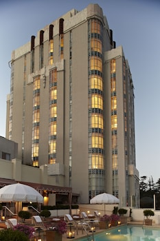 Foto van Sunset Tower Hotel in West Hollywood