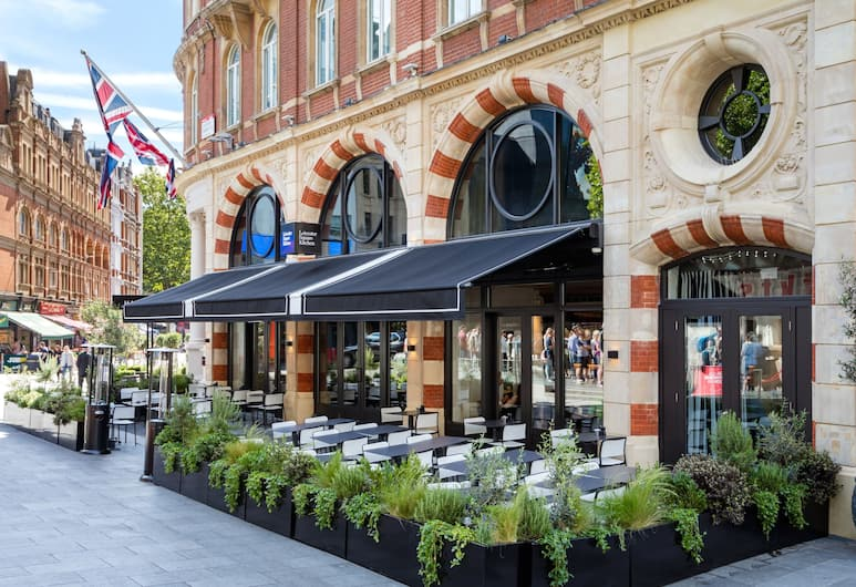 Radisson Blu Edwardian Hampshire Hotel, London, Terrasse/Patio