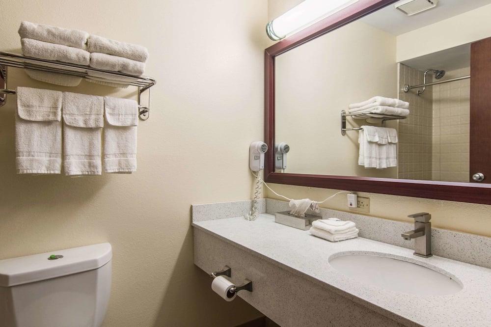 スタンダード ルーム クイーンベッド 2 台 禁煙 - バスルーム