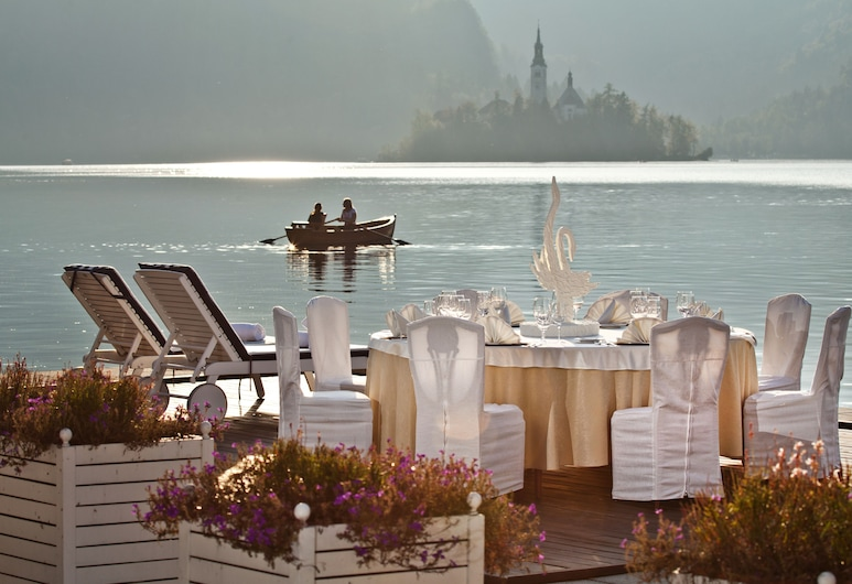 Grand Hotel Toplice - Sava Hotels & Resorts, Bled, Outdoor Dining