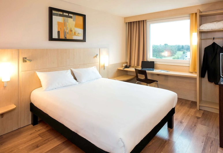 ibis Luxembourg Aéroport, Luxembourg City, Double Room, 1 Double Bed, Guest Room