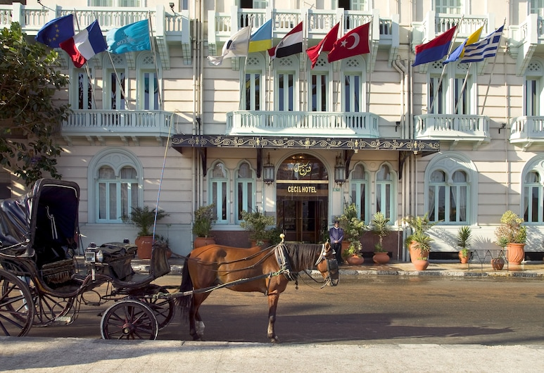 Steigenberger Cecil Alexandria Hotel, Alexandria, Hotellets indgang