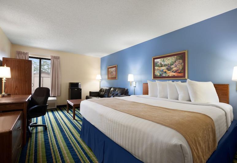 Days Inn by Wyndham Fargo, Фарго, Номер, 1 ліжко «кінг-сайз», для некурців, Номер