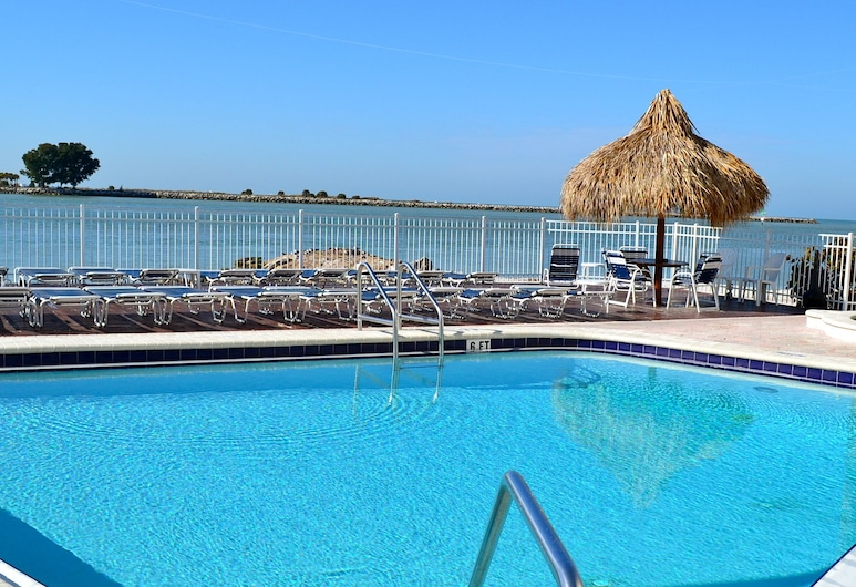 Gulfview Hotel on the Beach, Clearwater Beach, Außenpool