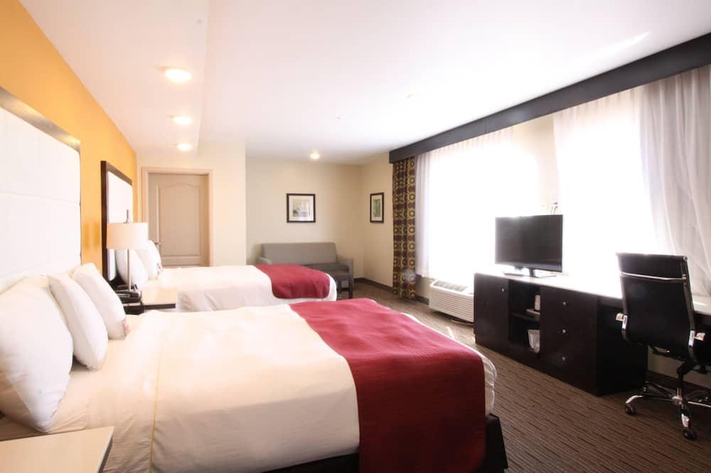 Kahden hengen huone, 2 parisänkyä - Vierashuone