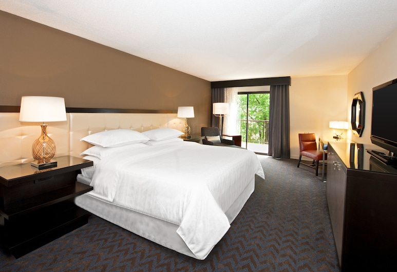 Sheraton Minneapolis West Hotel, Minnetonka, Quarto Club, 1 cama king-size, Acesso ao Business Lounge, Quarto