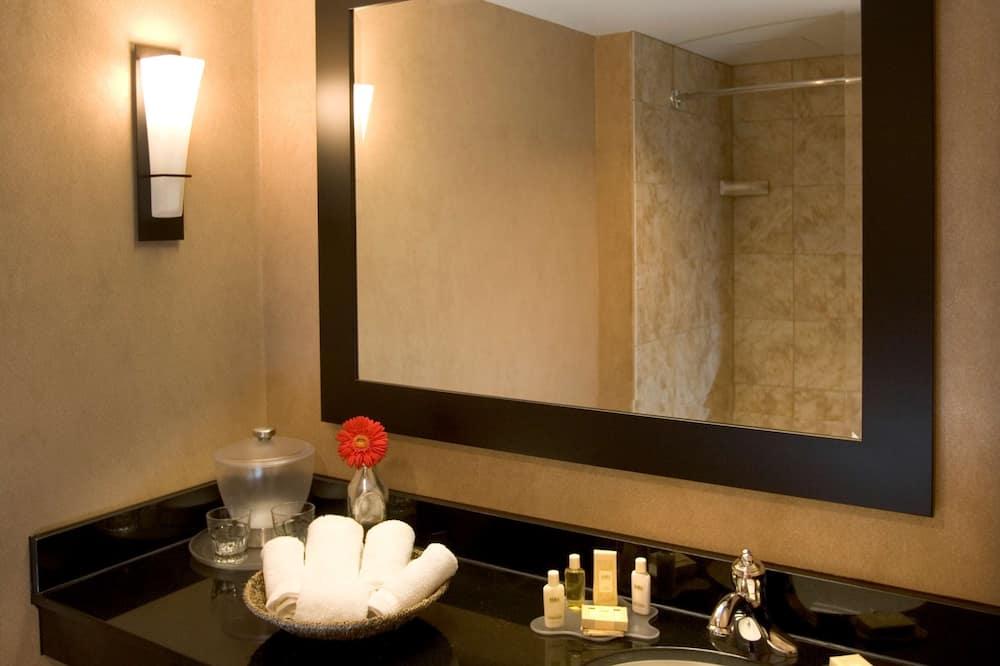 Kambarys, 2 standartinės dvigulės lovos, Nerūkantiesiems - Vonios kambarys