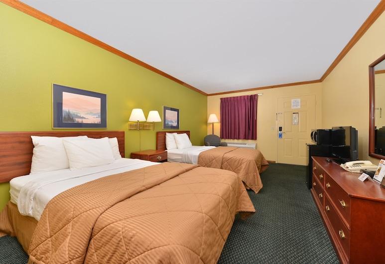 Americas Best Value Inn Maumee Toledo, Maumee, Kamar, 2 Tempat Tidur Double, non-smoking, Kamar Tamu