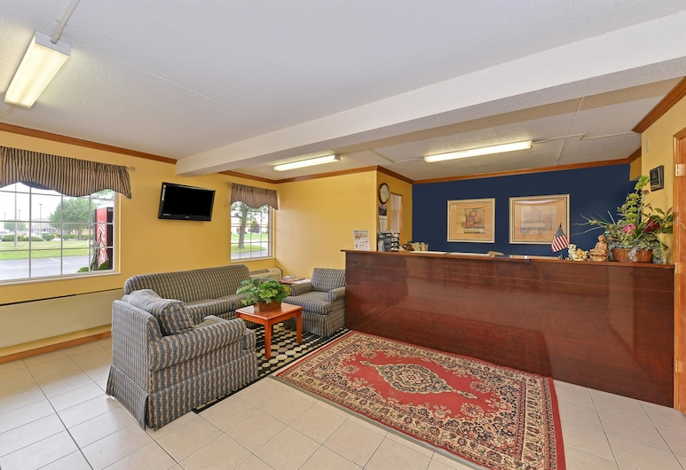 Americas Best Value Inn Maumee Toledo, Maumee, Reception