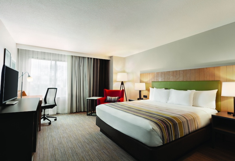Country Inn & Suites by Radisson, San Diego North, CA, San Diego, Quarto, 1 cama king-size, Não-fumadores, Quarto