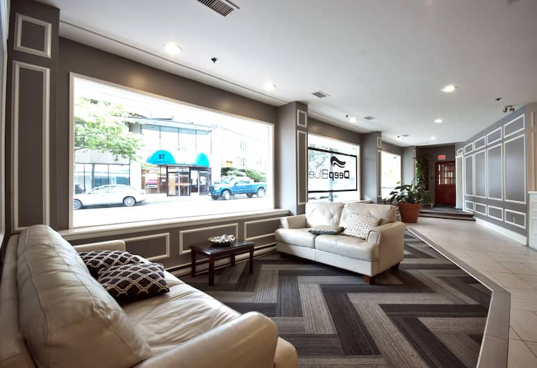 Best Western Dorchester Hotel, Nanaimo, Lobby Sitting Area