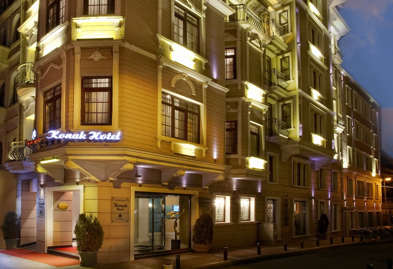 Konak Hotel Taksim, Istanbul, Pohľad na hotel – večer/v noci