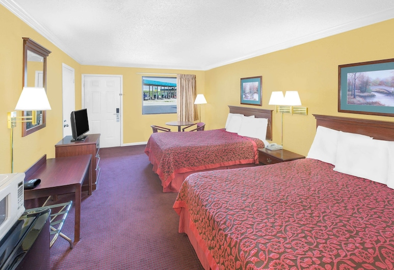 Days Inn by Wyndham N Little Rock East, North Little Rock, Standard Room, 2 Queen Beds, Guest Room