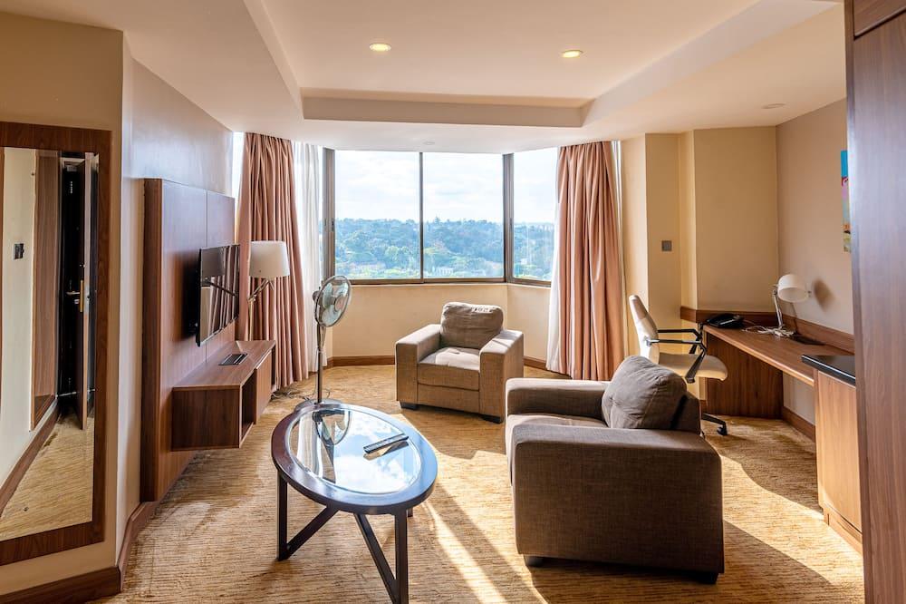 Suite panorámica - Sala de estar