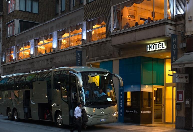 安特衛普世紀飯店, 安特衛普, 飯店入口 - 夜景