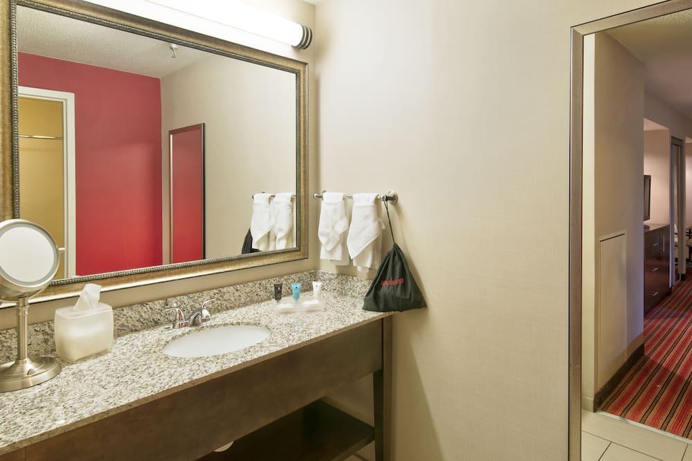 スーペリア ルーム クイーンベッド 2 台 禁煙 (Two Bed) - バスルーム