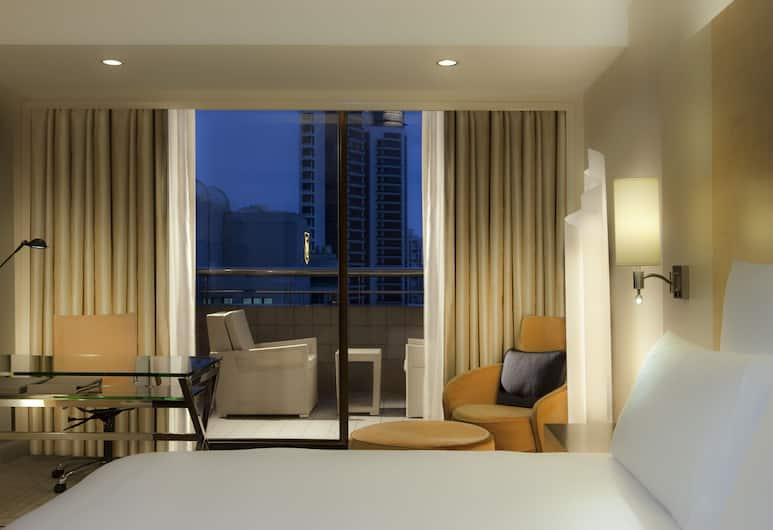 Hilton Singapore, Singapura, Kamar Eksekutif, 1 Tempat Tidur King (Plus), Pemandangan Kamar Tamu