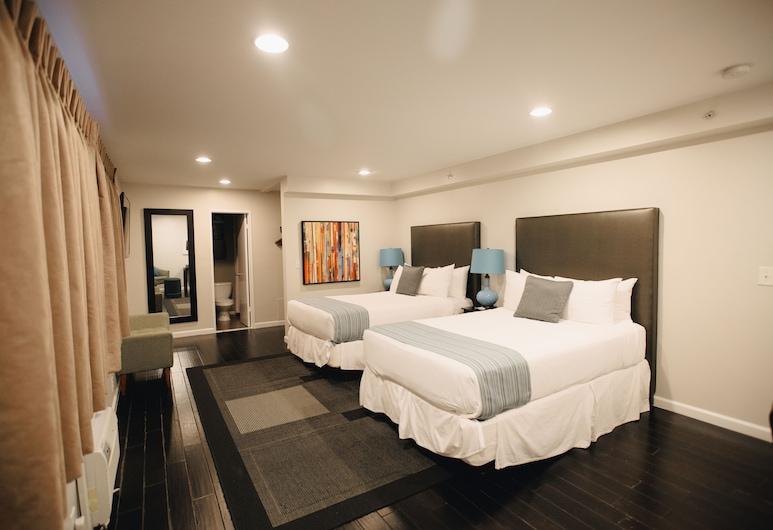 Shelter Hotel Los Angeles, Los Angeles, Štandardná izba, 1 extra veľké dvojlôžko, Hosťovská izba