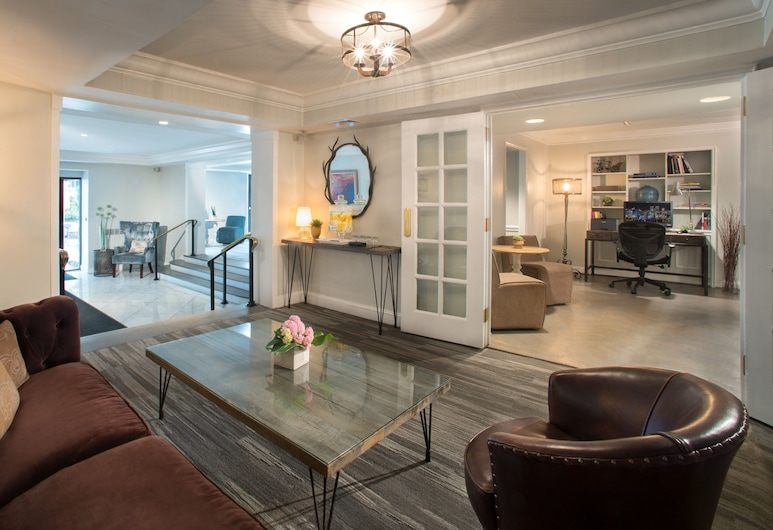 The Normandy Hotel, Washington, Lobby