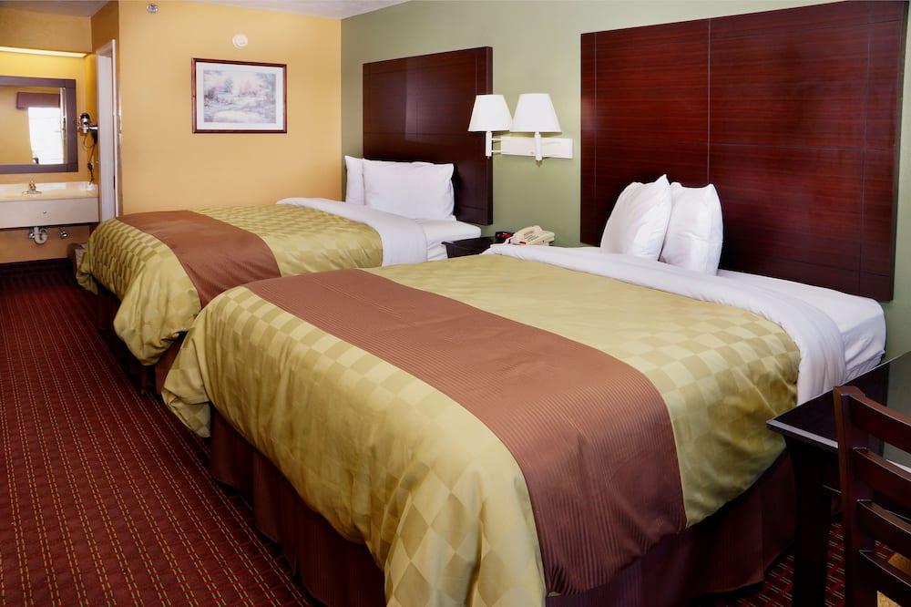 룸, 퀸사이즈침대 2개 - 욕실