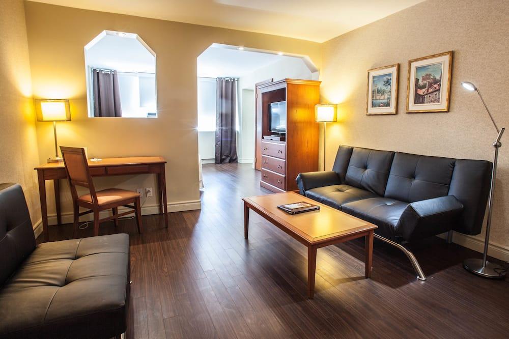 סוויטת ג'וניור, חדר שינה אחד - אזור מגורים