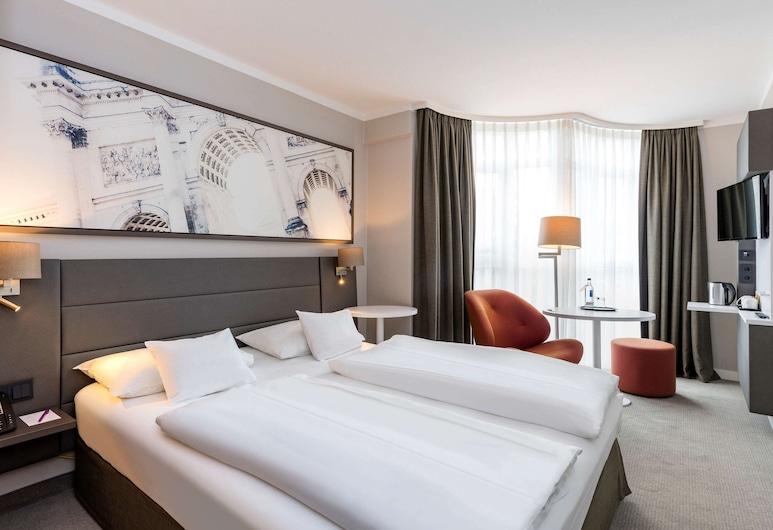 Mercure Hotel München Schwabing, Munique, Quarto Duplo Superior, 1 cama de casal, Quarto
