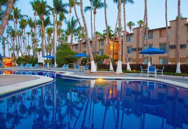 Araiza Palmira Hotel, La Paz, Terraza o patio