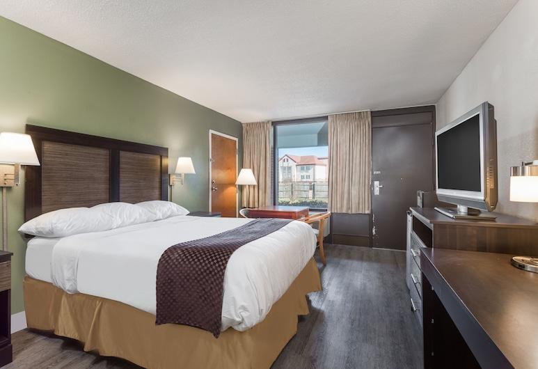 Days Inn & Suites by Wyndham Rocky Mount Golden East, Rocky Mount, Chambre Standard, 1 grand lit, accessible aux personnes à mobilité réduite, non-fumeurs, Chambre