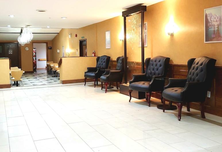 Motel 6 Trenton, ON, Quinte West, Sitzecke in der Lobby