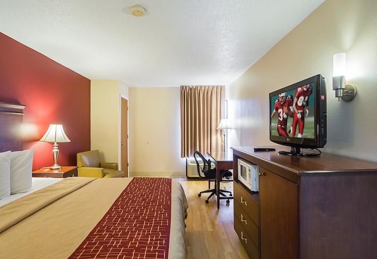 Red Roof Inn Nashville - Music City, Nashville, Habitación superior, 1 cama King size, para no fumadores, Habitación