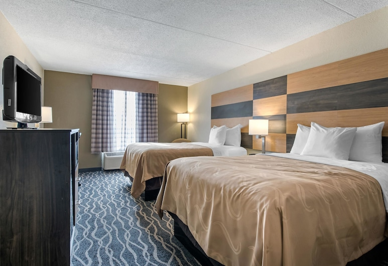Quality Inn & Suites Lafayette I-65, Lafayette, Standard Double Room, 2 Double Beds, Non Smoking, Guest Room