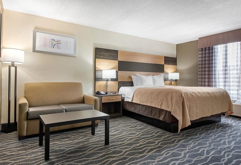 Quality Inn & Suites Lafayette I-65, לפאייט, Suite, King Bed, 1 person Sofa Bed, חדר אורחים