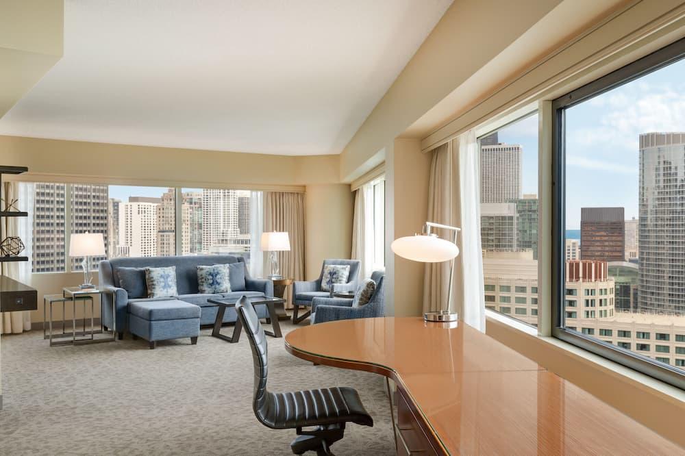 Номер-люкс, 1 ліжко «кінг-сайз» - Житлова площа