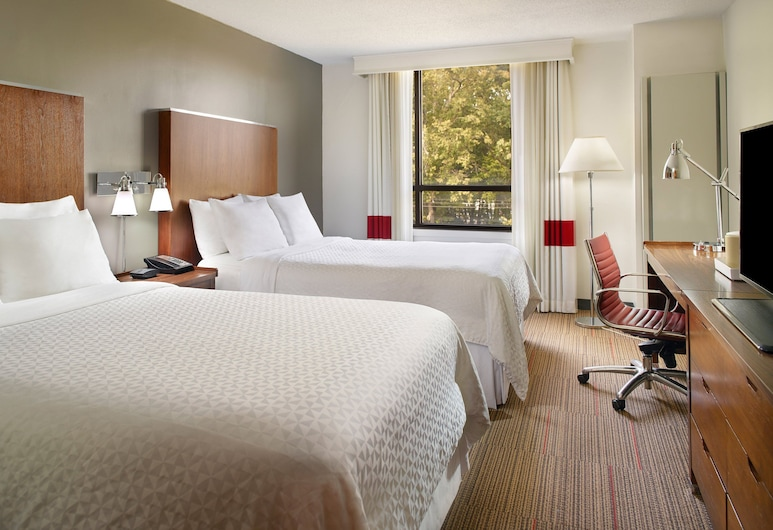 Four Points by Sheraton Charlotte, Charlotte, Traditional-Zimmer, 2Doppelbetten, Zimmer