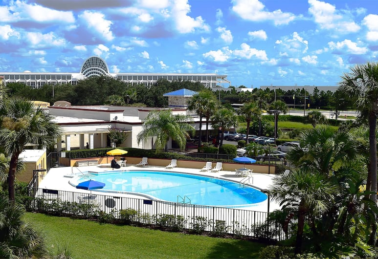Days Inn by Wyndham Orlando Conv. Center/International Dr, Orlando, Basen odkryty