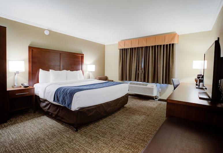 Comfort Inn Sunnyvale - Silicon Valley, Σάνιβεϊλ, Δωμάτιο, 1 King Κρεβάτι, Μη Καπνιστών (Upgrade), Δωμάτιο επισκεπτών
