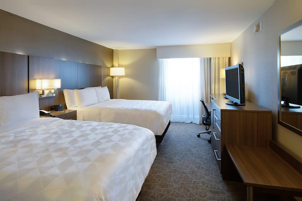 غرفة - سريران كبيران - لغير المدخنين (Executive Floor) - منظر للمتنزه