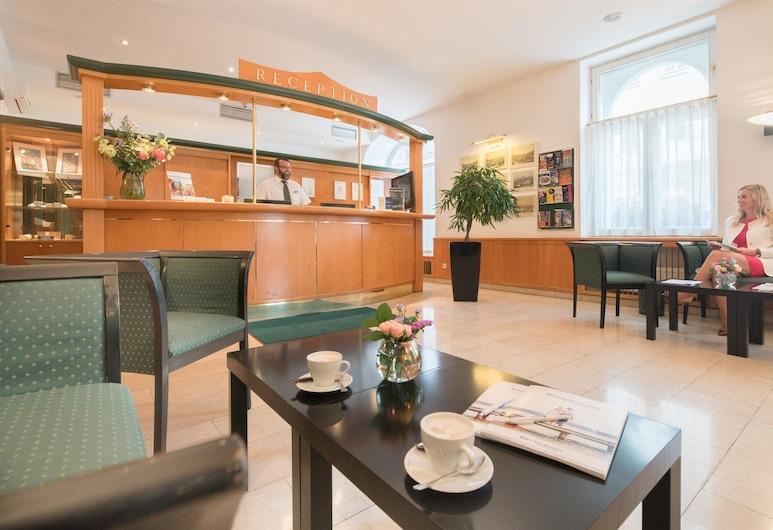 Best Western City Hotel Moran, Praga, Lobby