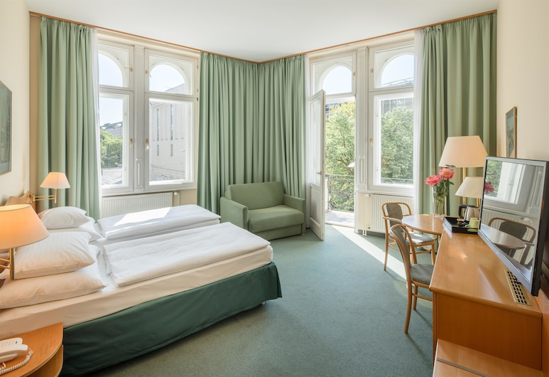 Best Western City Hotel Moran, Praga, Quarto