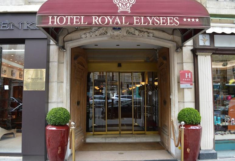 Hotel Royal Elysées, Paris, Hoteleingang