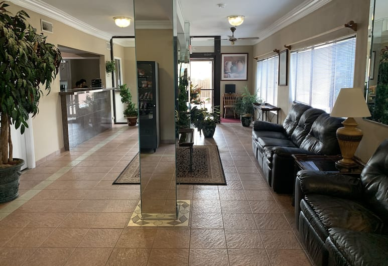 OYO Hotel Houston Galleria West, Houston, Sala de estar en el lobby