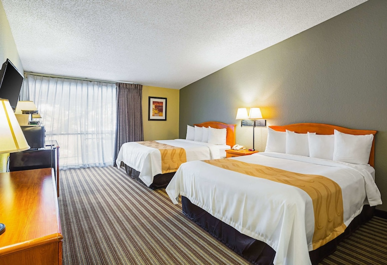 Quality Inn & Suites NRG Park - Medical Center, Houston, Standartinio tipo kambarys, 2 didelės dvigulės lovos, Nerūkantiesiems, Svečių kambarys