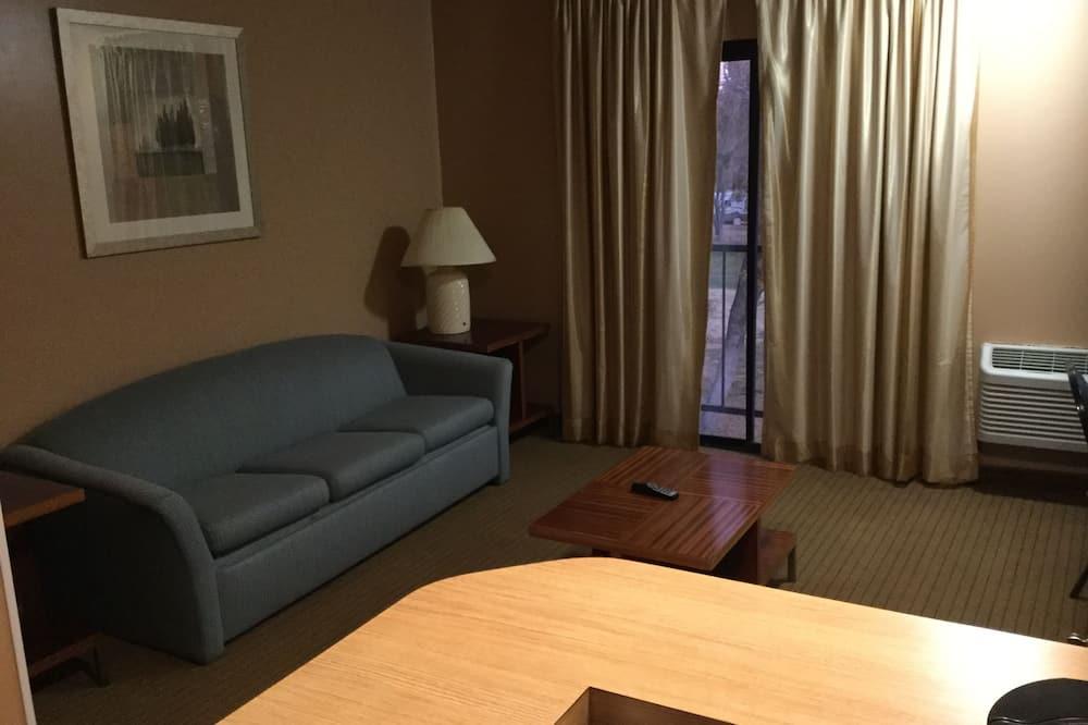 Suite estándar, 1 cama de matrimonio grande, fumadores - Sala de estar