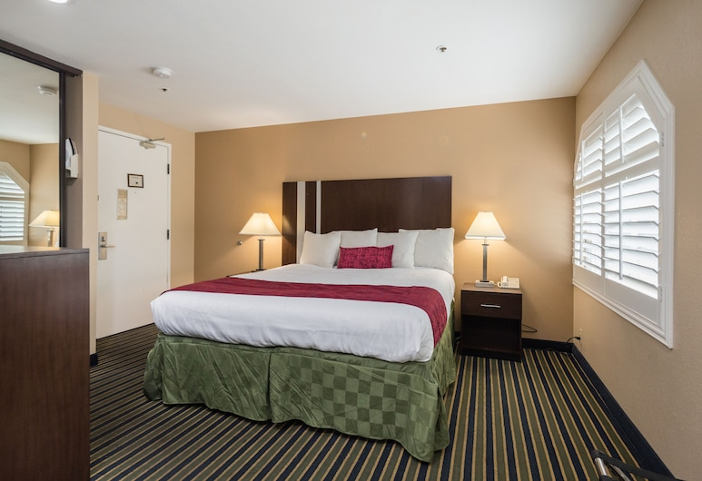 Travel Inn, Sunnyvale, Zimmer, 1King-Bett, Zimmer
