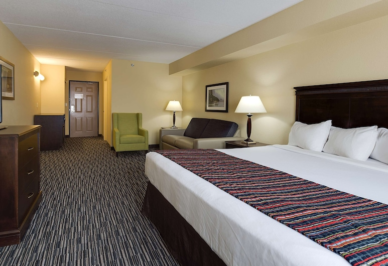Country Inn & Suites by Radisson, Niagara Falls, ON, Niagara Falls, Studio Suite, 1 King Bed with Sofa bed, Non Smoking, Guest Room