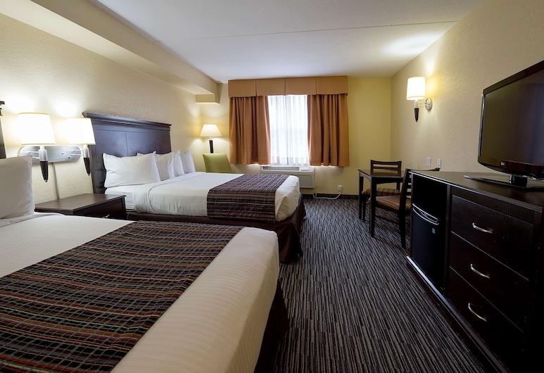 Country Inn & Suites by Radisson, Niagara Falls, ON, Niagara Falls, Camera, 2 letti queen, non fumatori, Camera
